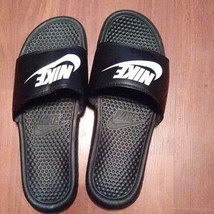 Nike slides size 12